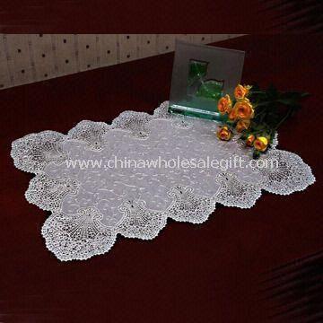 Moda argint Placemat realizate din vinil 100%