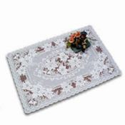Fashion Silver Placemat with Embossed Design images