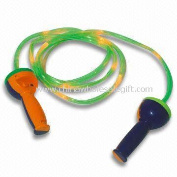 Flashing and Music Jump Rope