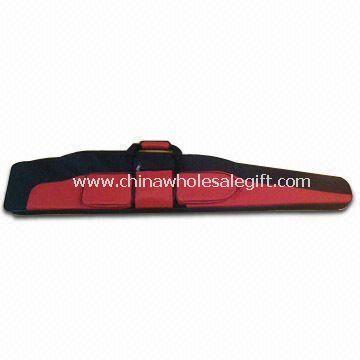 Gun Bag with Adjustable Shoulder Strap and 3 Smart Pockets for Cartridges