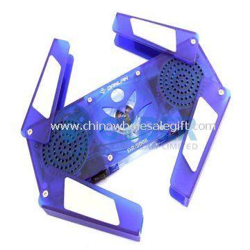 Laptop Cooler Pad Speaker Usb Hub