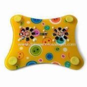 Colorful Laptop Cooling Pad with 5V Voltage and 1,800rpm Fan Speed images