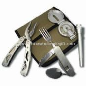 4pcs Tool Set with Nylon Pouch images