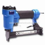 Pneumatic Staple Gun with Soft Rubber Grip and Hardened Alloy Steel Driver images