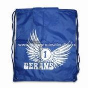 190T Nylon Beach Bag with Two Metallic Eyelet at Both Bottom Corners images