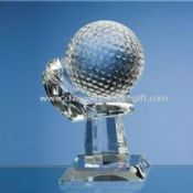 Crystal Golf Trophy with High Transparency images