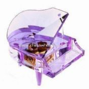 Violetti Piano Music Box tehty kristalli images