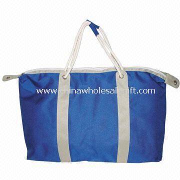 Tote/Shopping/Beach Bag Made of 600D Nylon - Plastic beach bag