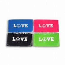 PVC Travel Wallet with Love Peace Design images
