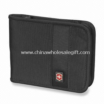 Around Travel Wallet with Slots for Business or Credit Cards  Made of nylon