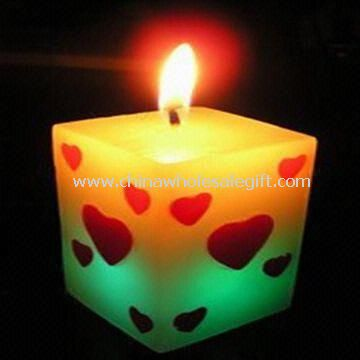 Candle with LED Flashing Bulbs Use for Parties and Festivals