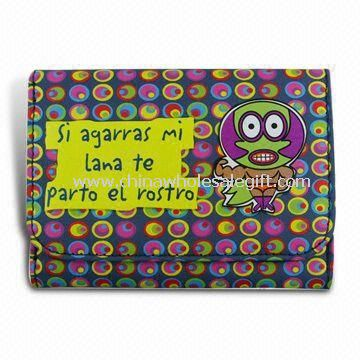 Kids Polyester Wallet with Cartoon Print