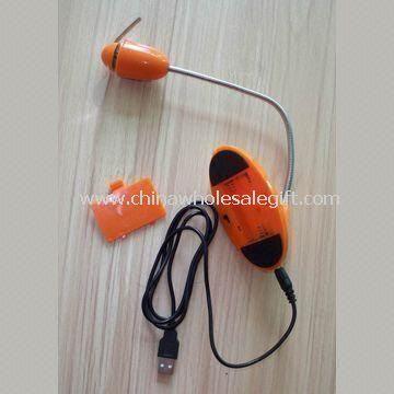 USB Flashing Message Fan