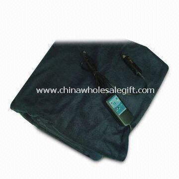 12V DC Heated Electric Travel Blanket with Automatic Temperature Control