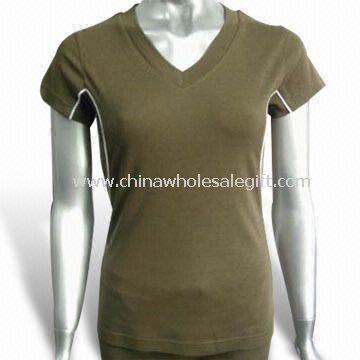 Bamboo Yoga T-shirt Made of 70% Bamboo and 30% Organic Cotton