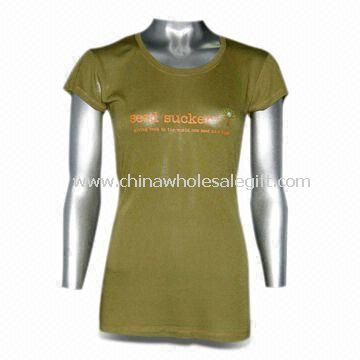 Eco-friendly Bamboo T-shirt with UV Protection