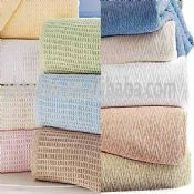 100% Cotton Hospital Cellular Blanket images