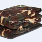 Fleece Blanket in Camouflage Military Design images