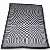 Weft Knitted Blanket/Bath Robe/Towel/Table Cloth in Radiation Design images