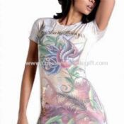 Womens T-shirt with Floral Print images