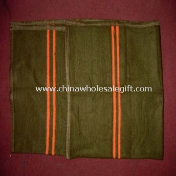 plain polyester military blanket