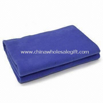 Polar Fleece Anti-pilling One Side Airline Blanket