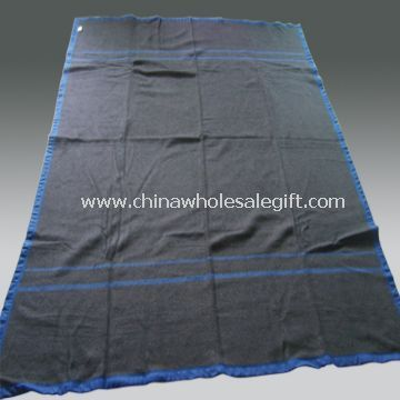 soft feeling and strict quality military blanket