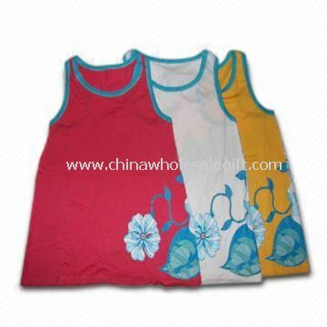 Soft Womens T-shirt Made of 70% Bamboo and 30% Cotton Materials