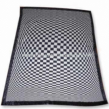 Weft Knitted Blanket/Bath Robe/Towel/Table Cloth in Radiation Design