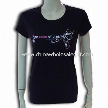 Womens Reactive Dye T-shirt Made of 100% Cotton