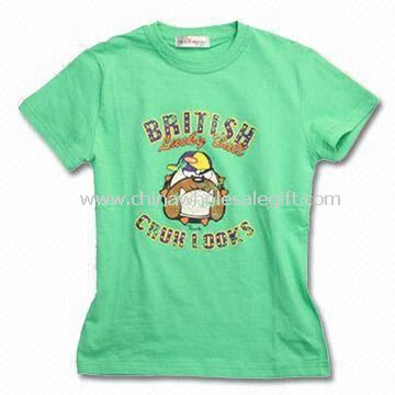 Womens T-shirt Made of 100% Combed Cotton