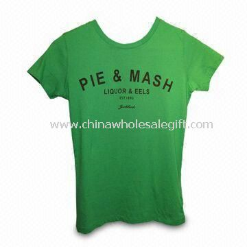 Womens T-shirt Made of Cotton Fabric