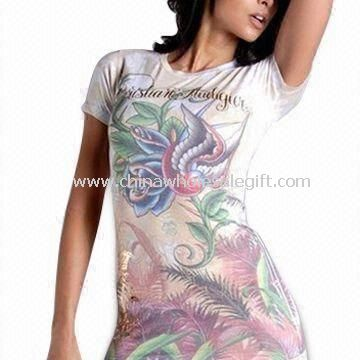 Womens T-shirt with Floral Print