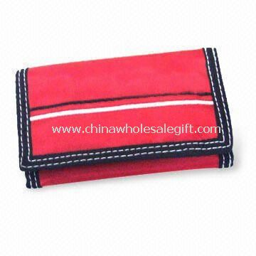 Canvas and PVC Promotional/Purse/Business Card Holder
