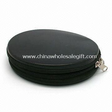 CD Wallet with Zipper Made of Tinplate