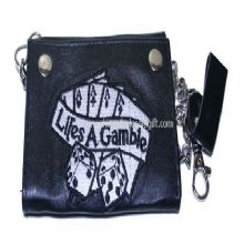 Embroidered Leather Wallets And Purses images