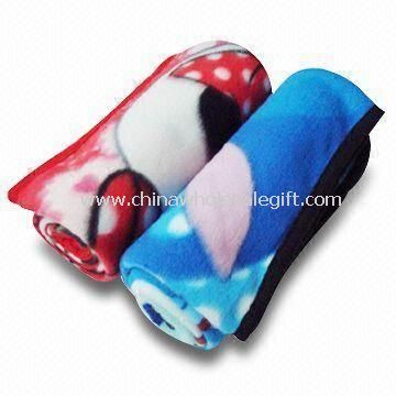 Fleece/Printed Baby Blankets Made of 100% Polyester