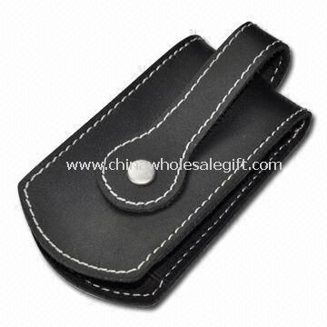 Key Wallet in Black Color Made of Leather