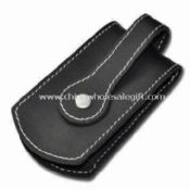 Key Wallet in Black Color Made of Leather images