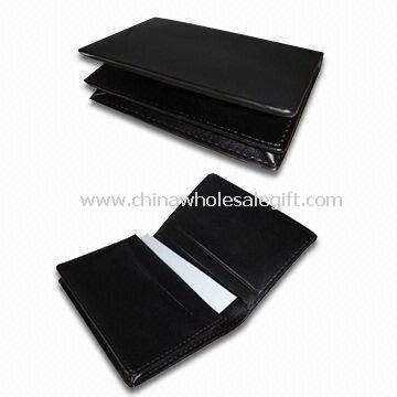 Mutifunctional Business Card Wallets with Expandable Pockets