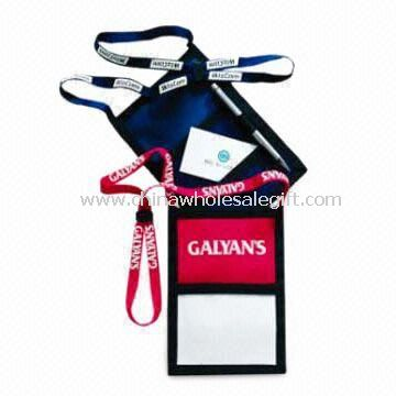 Neck Badge Wallet Suitable for Big Trade show