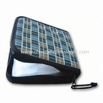 Nylon CD Bag with Zipper Closer