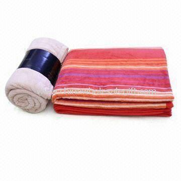 Printed and Plain Micro Polyester Blanket