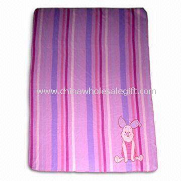 Soft Printed Fleece Baby Blanket