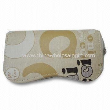 Womens Fabric Wallet with Design Printing and Zipper