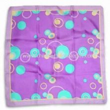 100% Silk Square Scarf images