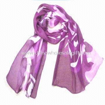 Fashionable Long Scarf Made of 100% Cotton