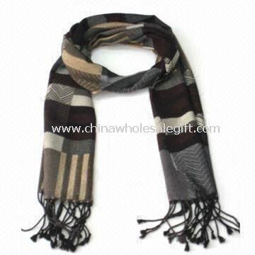 Knitted Wool Winter Long Scarf