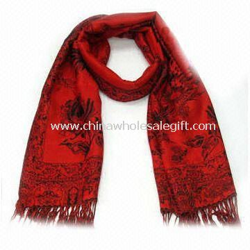 Long Scarf Made of Polyester