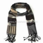 Knitted Wool Winter Long Scarf images